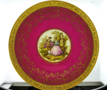 Limoges France Small Decorative Plate Signed Fragonard