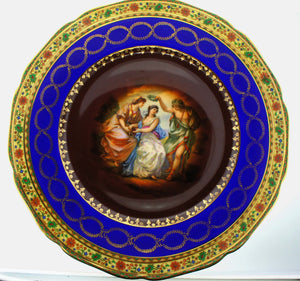 Grizelle Bavarian China Decorative Wall Plate