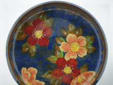 Royal Doulton Blue Floral Decorative Porcelain Plate