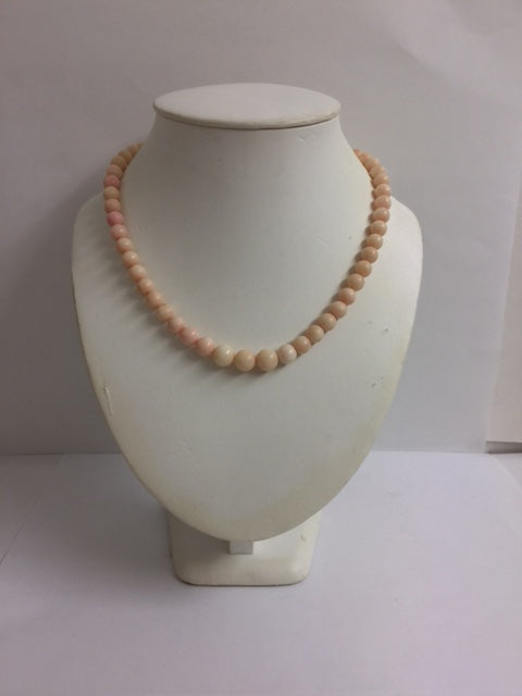 Natural Mediterranean Angle Skin Coral Necklace