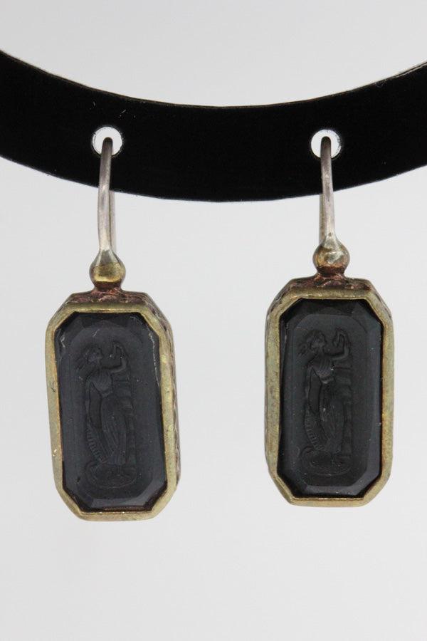 Italian Intaglia Earrings