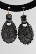 Victorian Whitby Jet Earrings