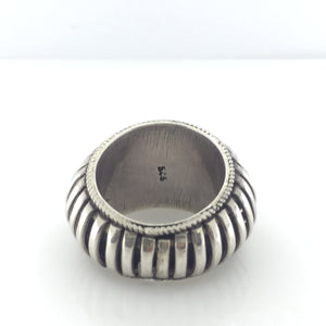 Sterling Silver Modernist Design Ring