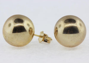 9ct Large Ball Studs