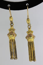 18ct Tassel Earrings