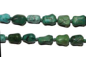 Natural Green Turquoise Necklace