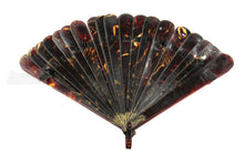 Antique Natural Tortoiseshell Fan