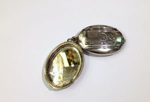 Silver Antique Victorian Locket