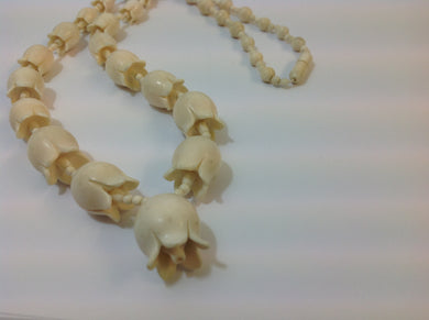Vintage Japanese Ivory Necklace