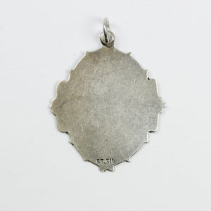 Sterling Silver Sheild Pendent