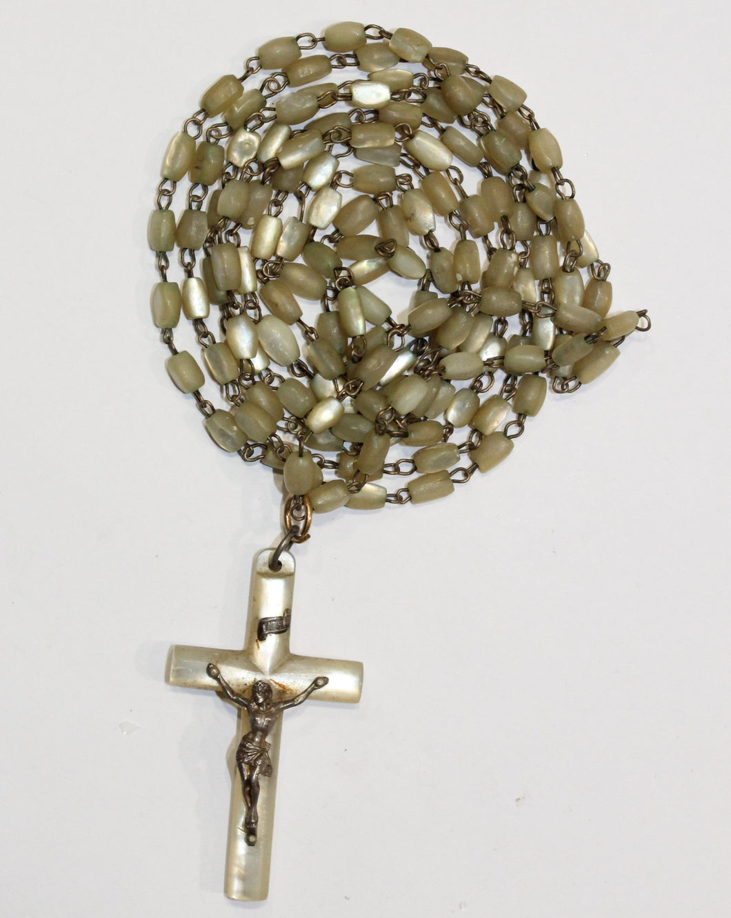 Antique Mother of Pearl Rosary
