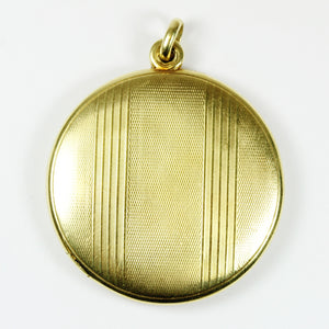 14ct Yellow Gold Edwardian Lined Locket