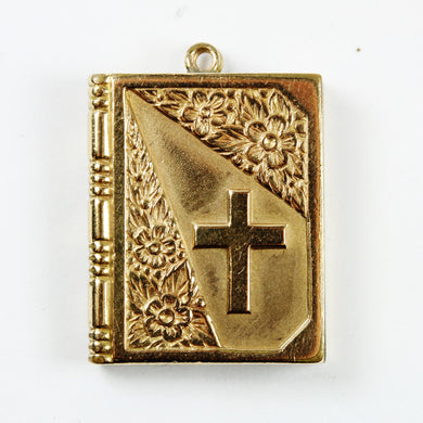 9ct Gold Plated Bible Locket