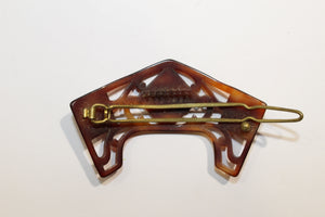 Antique Tortoiseshell Hair Clip