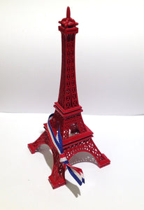Retro Red Eiffel Tower