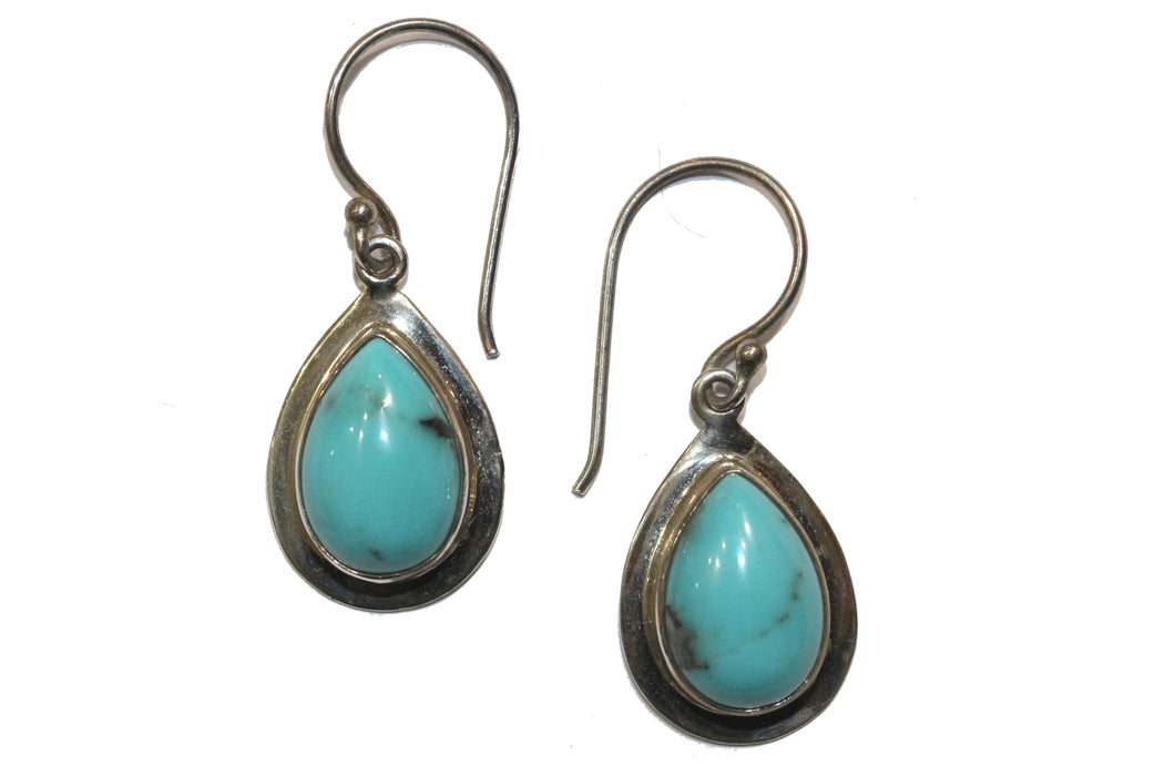 Sterling Silver Turquoise Earring