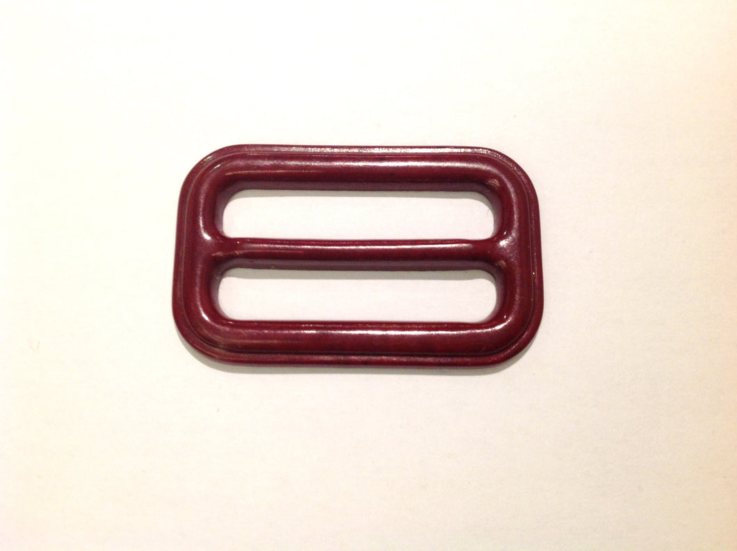 Dark Cherry Vintage Bakelite Buckle