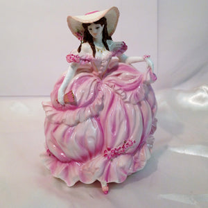 "Coalport Bone China Figurine ""Rebecca"""