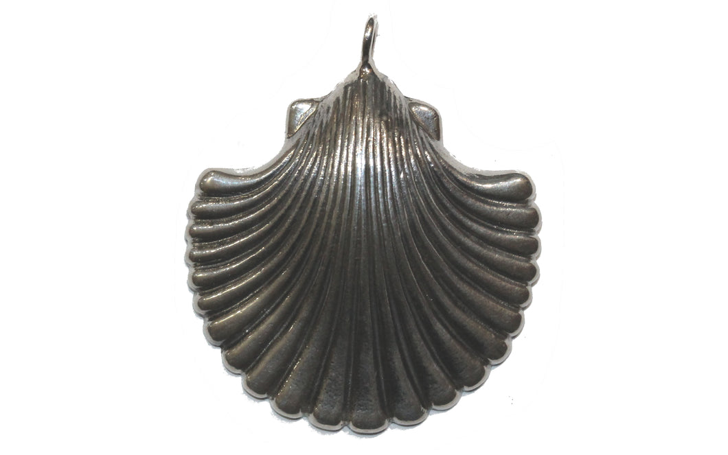Sterling Silver Clam Shell Pendant
