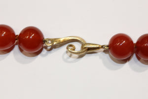 Natural Carnelian Necklace