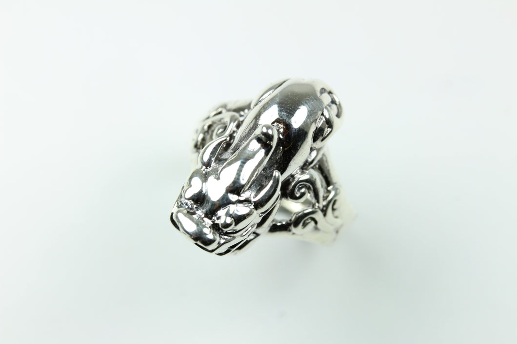 Sterling Sliver Chinese Dragon Ring