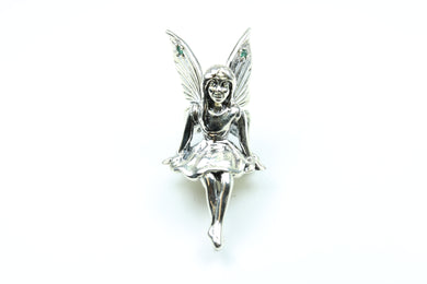 Sterling Silver Pixie Fairy Ornament