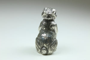 Sterling Silver Ornamental Rabbit