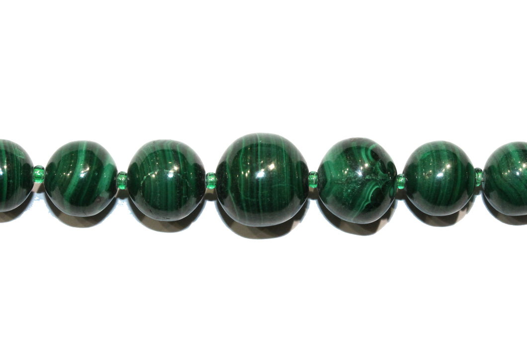 Antique Malachite Necklace