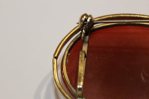 Victorian Carnelian Brooch and Pendant