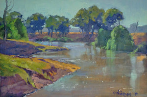 """Macquarie River Scene"" Brett 'Mon' Garling"