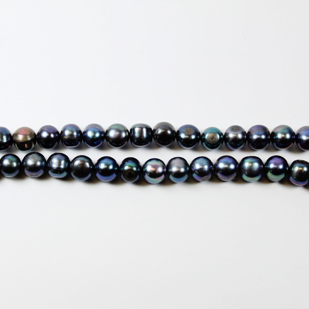 Black Tahitian Medium Pearl Necklace