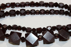 Maroon Bakelite Necklace