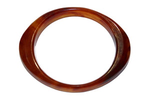 Tortoiseshell Lucite Bangle
