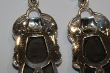 Onyx and Marcasite Drops