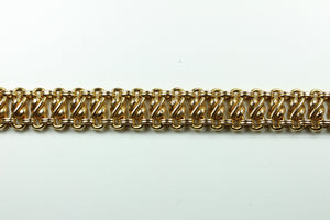 Antique 18ct Rose Gold Hand Made Bracelet