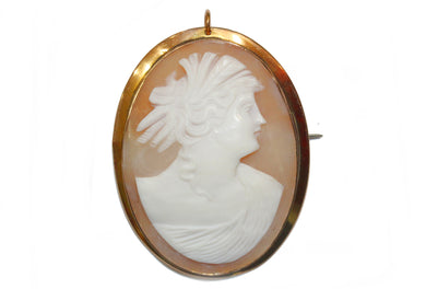 Edwardian Gold Cameo