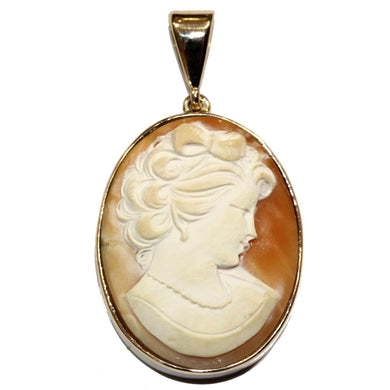 9ct Vintage Cameo