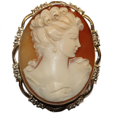 9ct Victorian Cameo