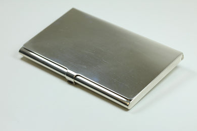 Sterling Silver Business Card Tray
