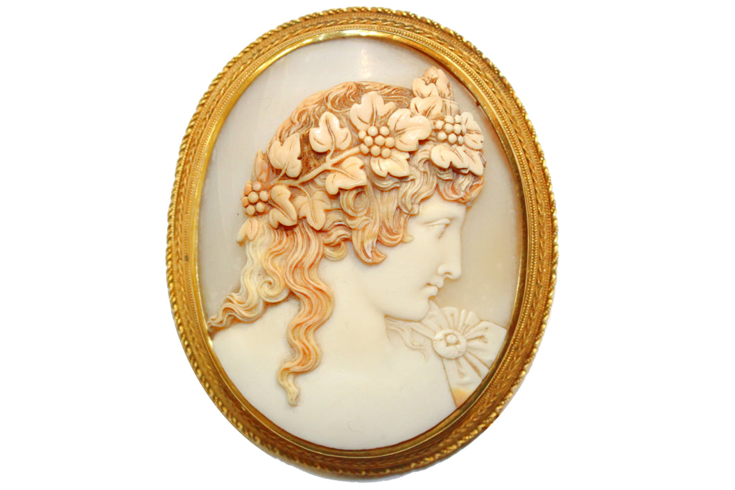 Hadrian's Lover Antique Cameo