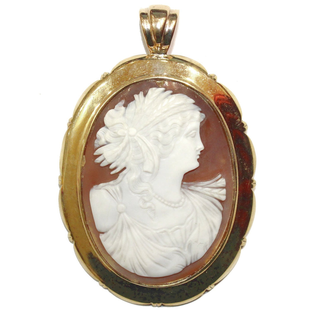 Antique Victorian Cameo Enhancer