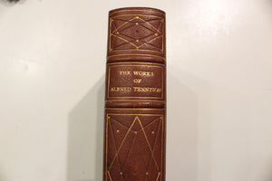 The Works of Alfred Tennyson Leather Book