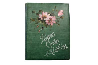 Post Card Album from 1900-1910.