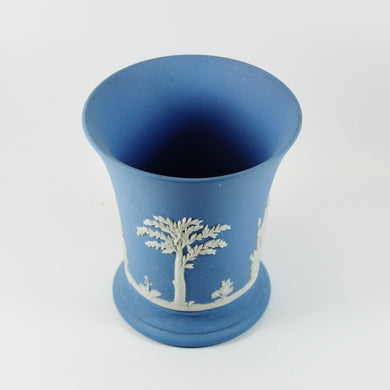 Small Light Blue Vintage English Wedgewood Vase