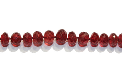 Natural Red Spinel Necklace