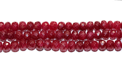 Natural Burmese Ruby Necklace
