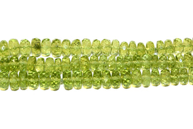 Natural Green Peridot Necklace
