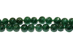 Dark Forest Green Colombian Emerald Necklace