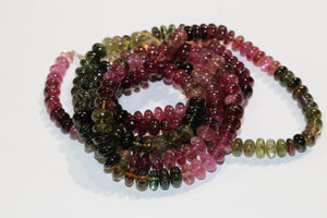 Natural Watermelon Tourmaline Necklace