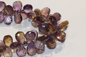Faceted Natural Ametrine Necklace